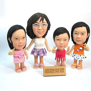 感謝師恩-幼教老師小朋友公仔娃娃組